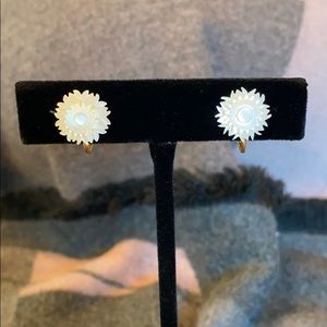 Jewelry - Delicate Clip on earrings with Gold Tone clips